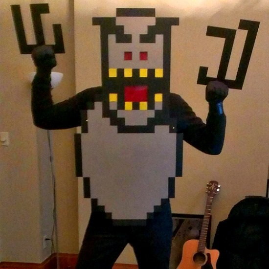 SkiFree Snow Monster Costume