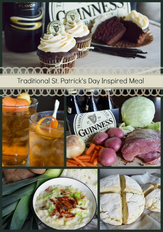 Tradition St. Patrick's Day Inspired Meal
