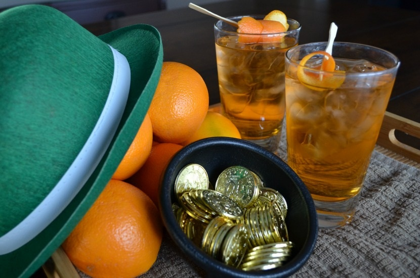 Irish Gold Cocktail Drink Recipe