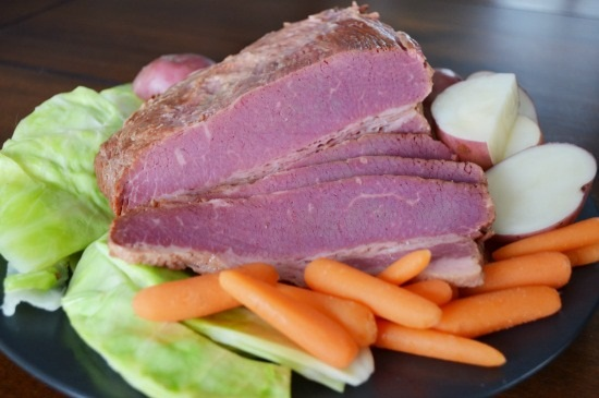 Traditional Corned Beef and Cabbage Recipe in a Crock Pot