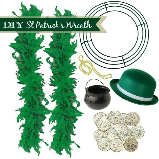 DIY St Patricks Day Wreath Instructions
