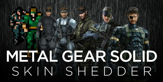 Metal Gear Solid: Skin Shedder header