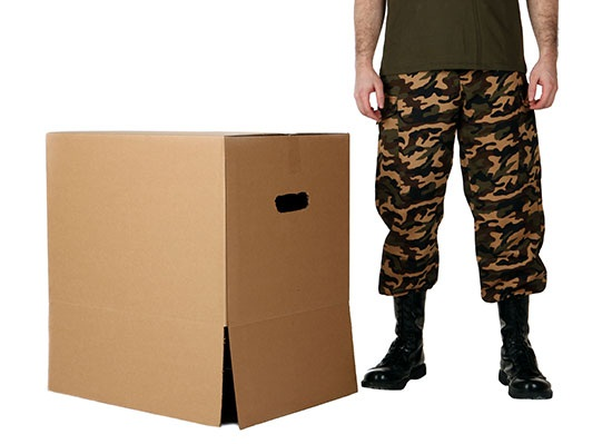 DIY Metal Gear Solid Box and Legs