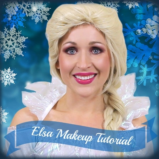 DIY Frozen Makeup Tutorial