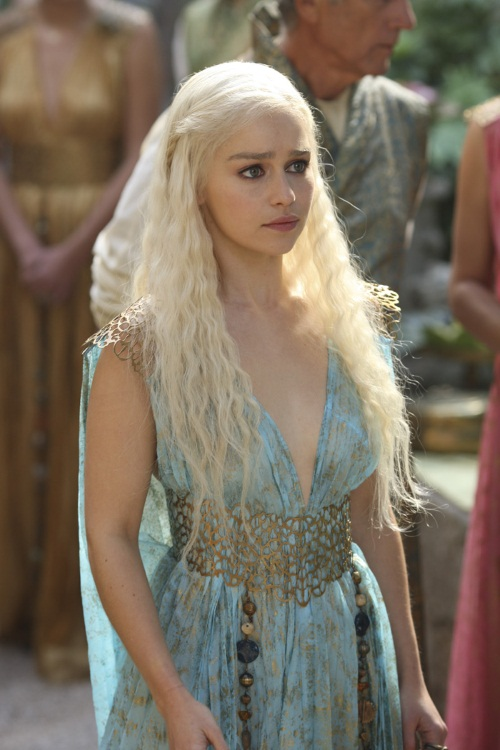 Daenerys Targaryen Blue Dress