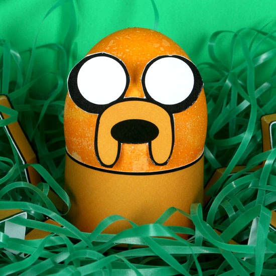 Adventure Time Jake  DIY Easter Egg Free Printable
