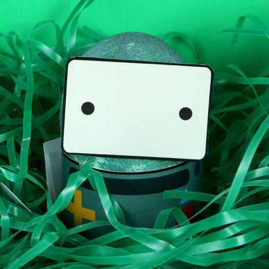 Adventure Time BMO  DIY Easter Egg Free Printable