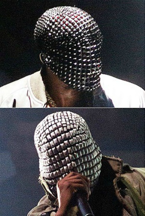 Kanye West and His Mask