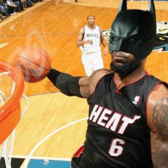 Lebron James Batman