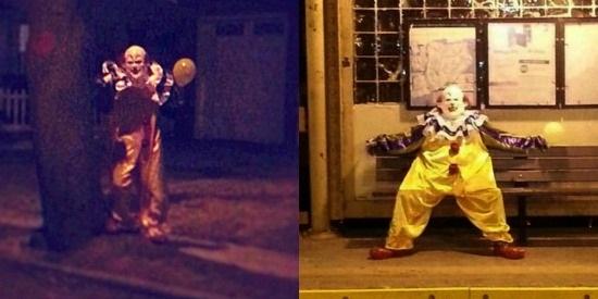 Scary Staten Island Clown