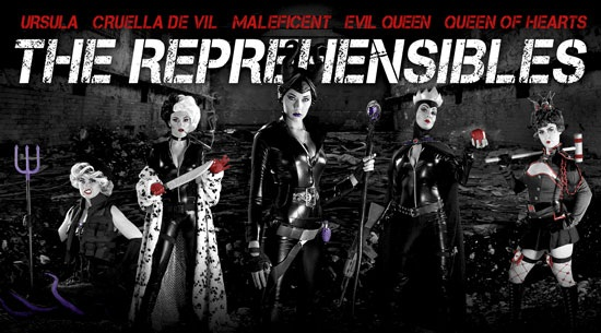 Disney Villains as The Expendables