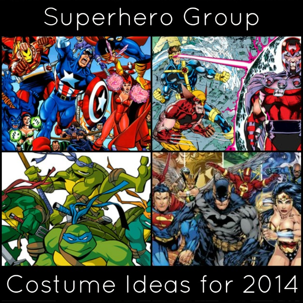 Superhero Group Header Image