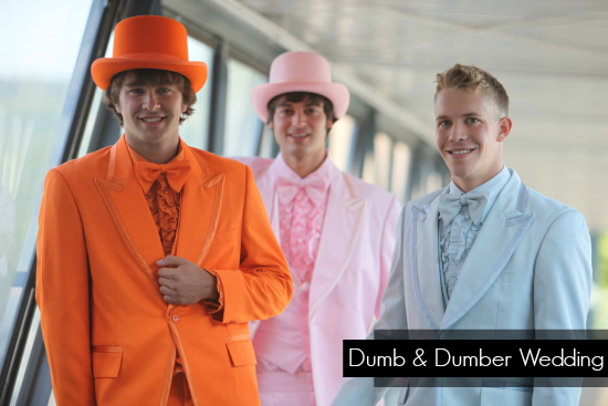 Dumb and Dumber Tuxedos
