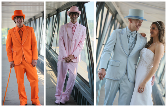 Bright Colored Wedding Tuxedos