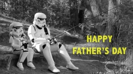 Stormtrooper Father's Day eCard