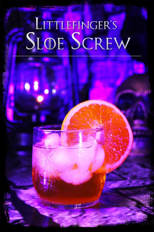 Littlefinger's Sloe Screw