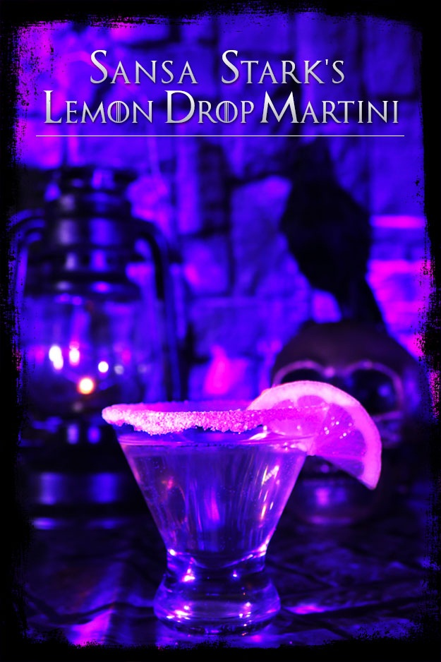 Sansa Stark's Lemon Drop Martini