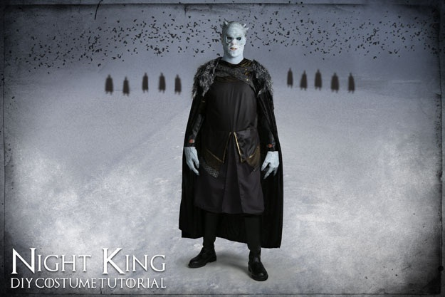 Diy white walker costume the nights king halloween costumes blog solutioingenieria Images