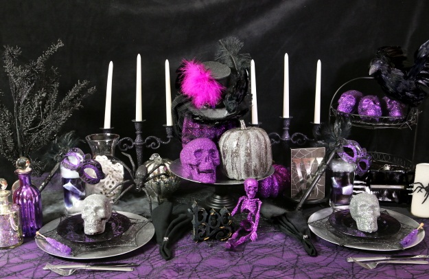 Whimsical Halloween Tablescape