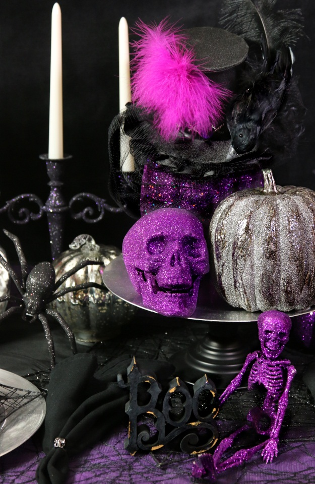 Whimsical Halloween Table Center Piece