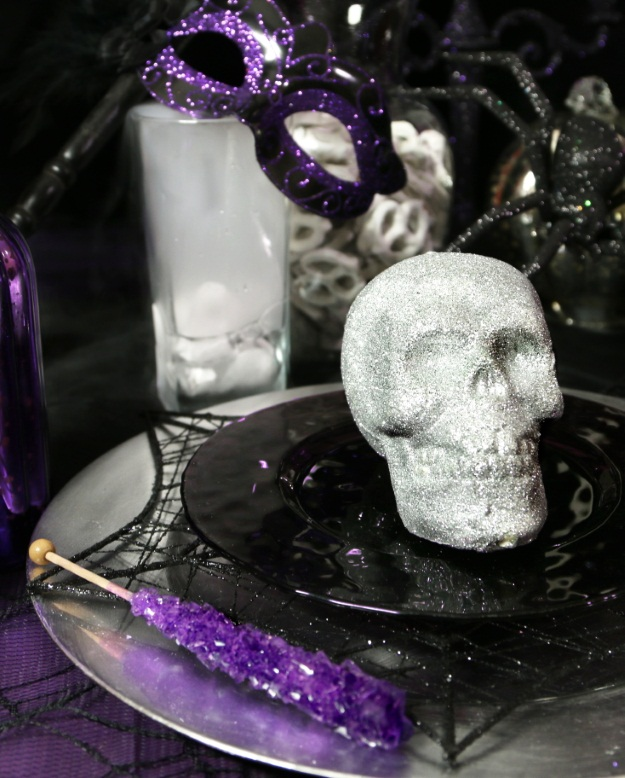 Whimsical Halloween Place Setting