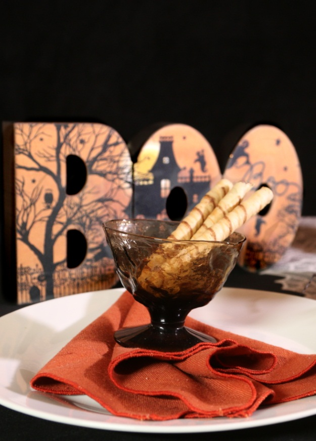 Classic Country Halloween Table Setting