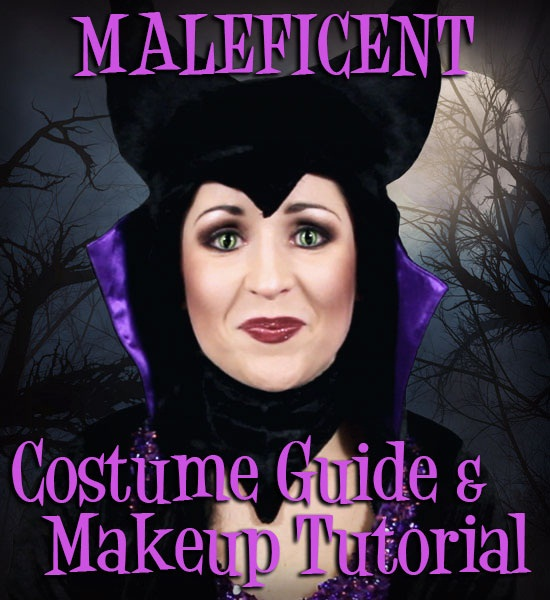 Maleficent Costume Guide and Makeup Tutorial - Halloween