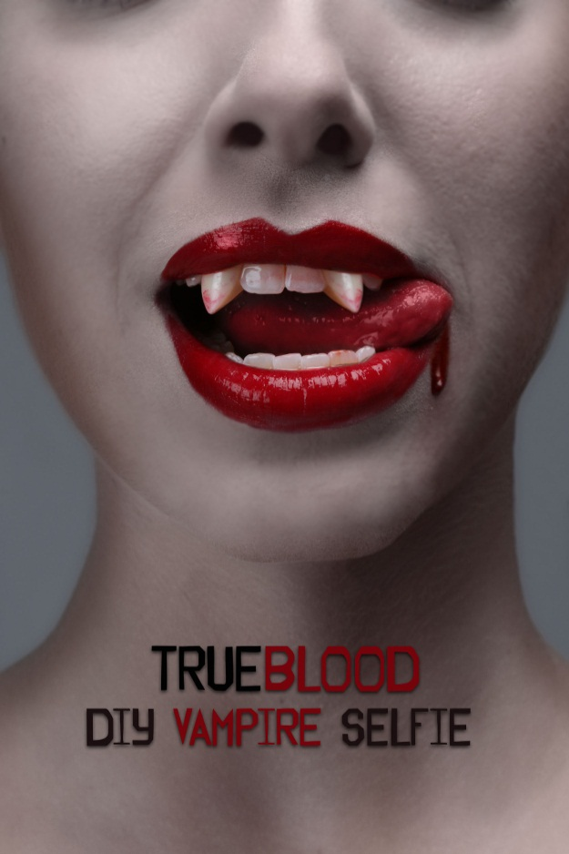 True Blood Vampire Selfie