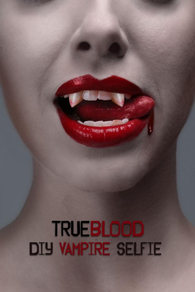 True Blood Vampire Selfie