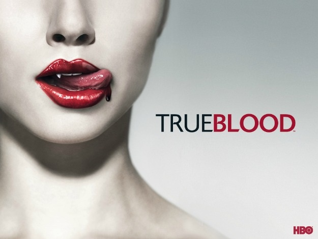 True Blood Lips Poster