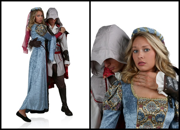 Assassin's Creed Ezio and Sofia