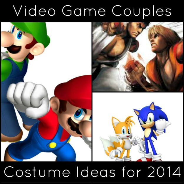 Video Game Couples Costume Ideas