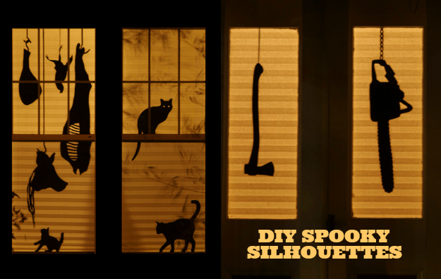 Scary Window Silhouettes