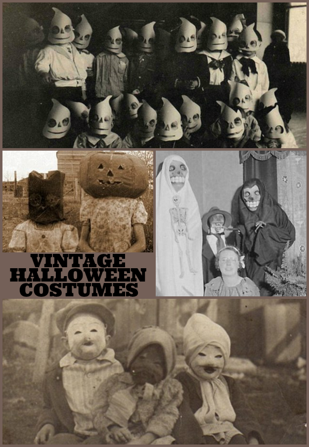 Terrifying Vintage Halloween Costumes