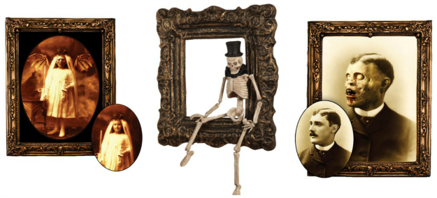 Gory Picture Frames