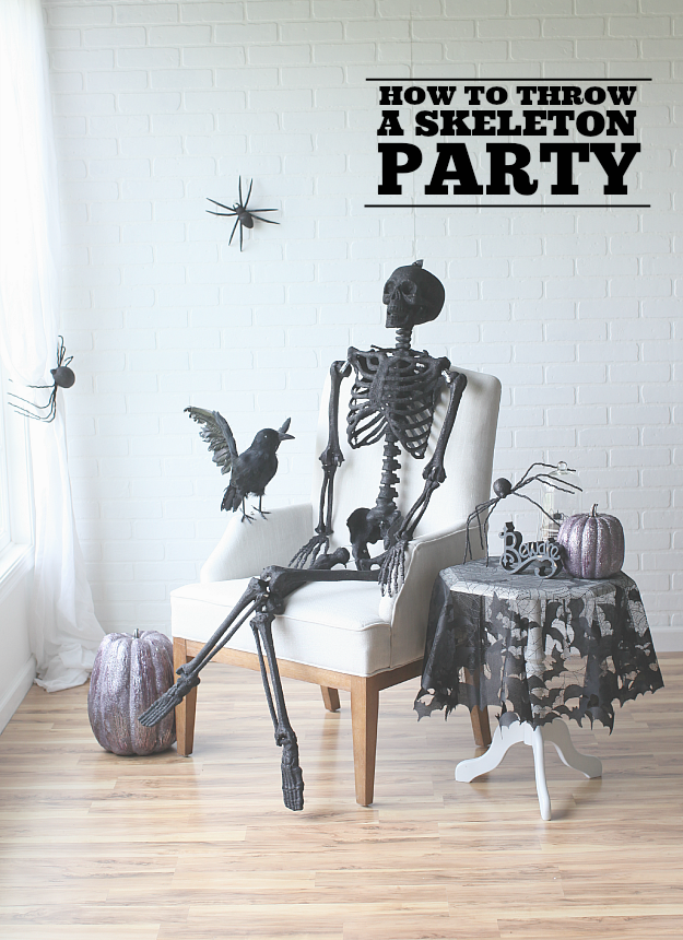 Skeleton Party DIY