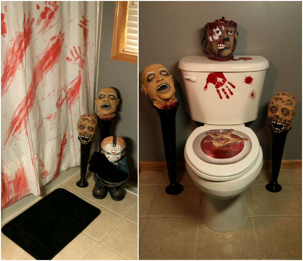 Haunted House Bathroom