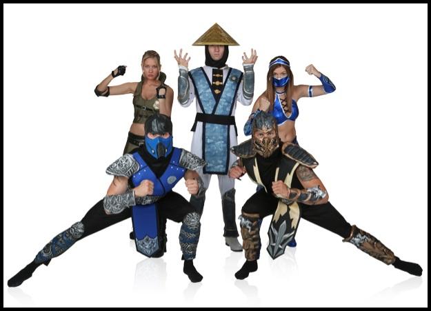 Mortal Kombat group costumes