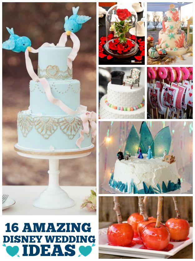 16 Amazing Disney Wedding Details And Inspiration
