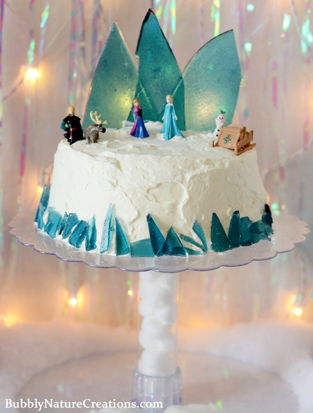 frozen wedding cake 16 amazing disney wedding details and inspiration 14508