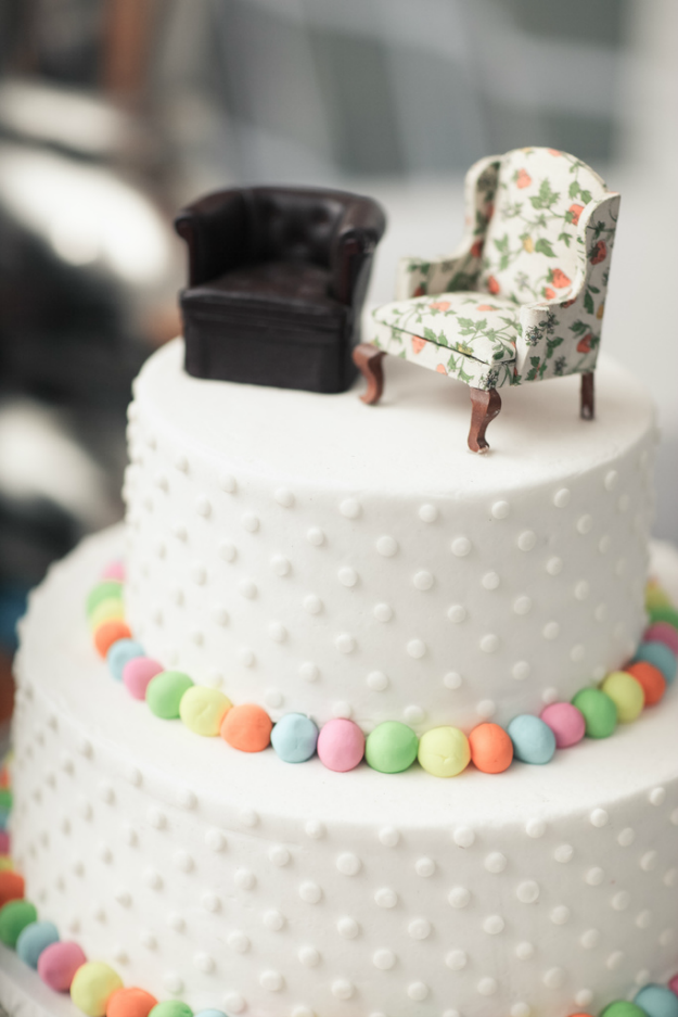 Up Wedding Cake