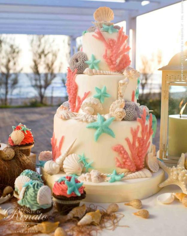 Dolphin Wedding Cake Designs