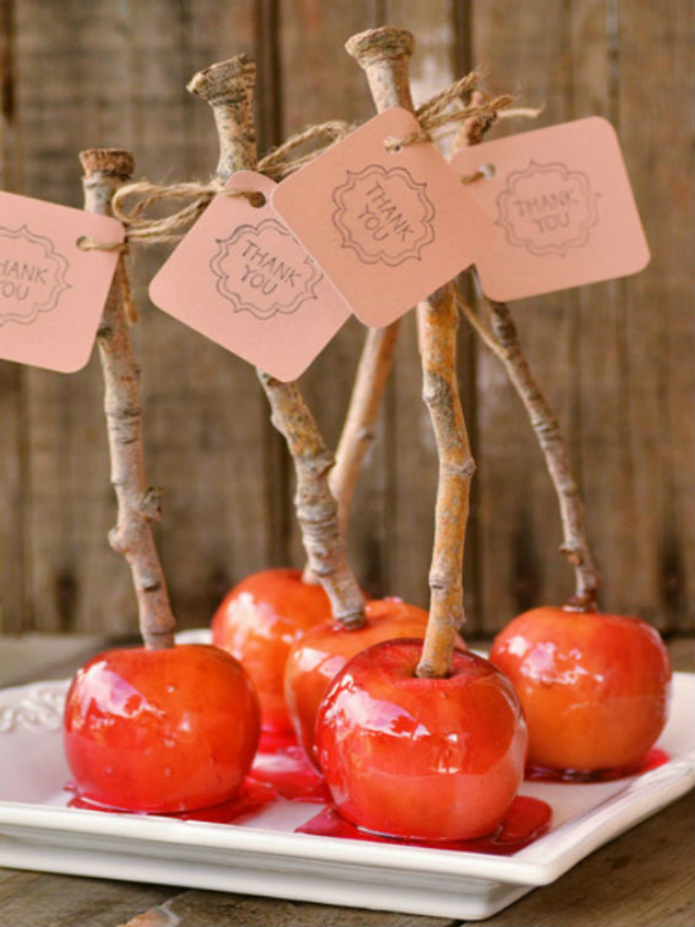 Snow White Candied Apples