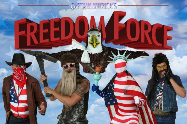Captain Murica Freedom Force