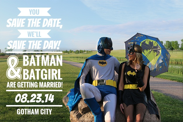 Batman Save The Date