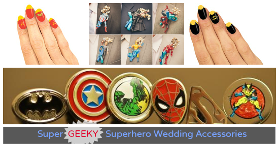Superhero Wedding Accessories