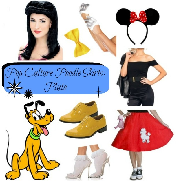 Mickey Mouse Pluto Poodle Skirt