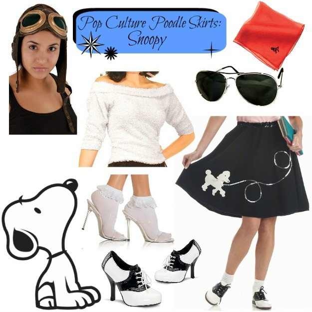 Snoopy Poodle Skirt