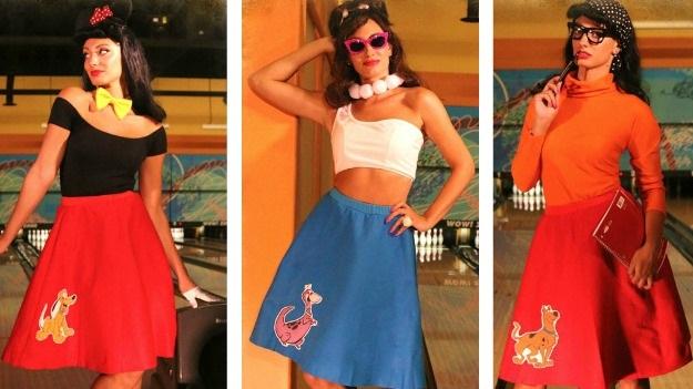 8 Pop Culture Poodle Skirts