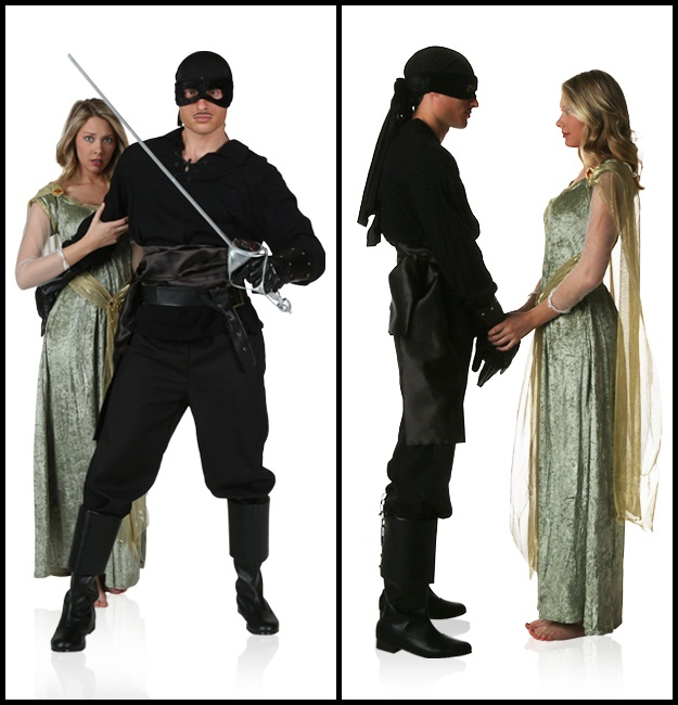 Dread Pirate Roberts and Buttercup